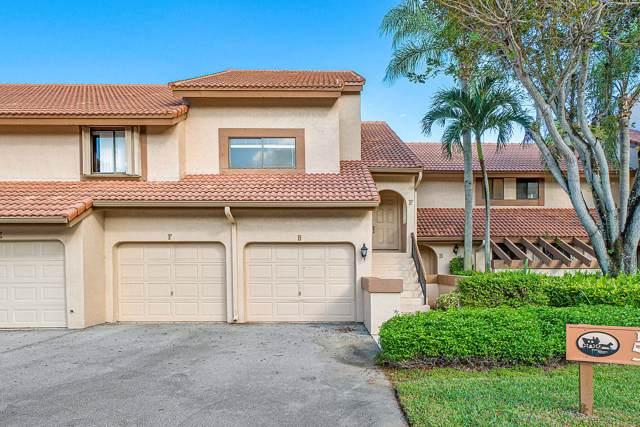 5520 Coach House Circle F, Boca Raton, FL 33486 (MLS #RX-10594092) :: Castelli Real Estate Services