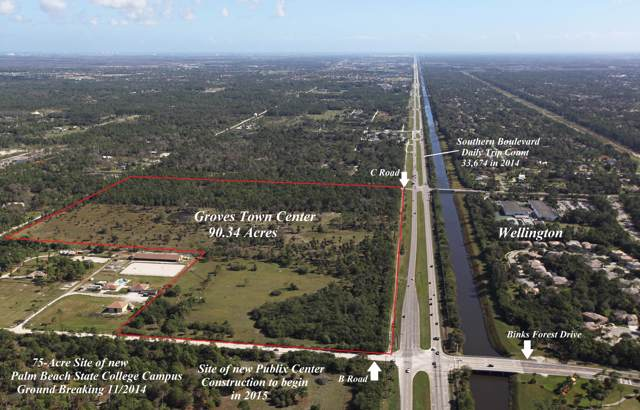 15439 Southern Boulevard, Loxahatchee Groves, FL 33470 (MLS #RX-10594183) :: The Jack Coden Group