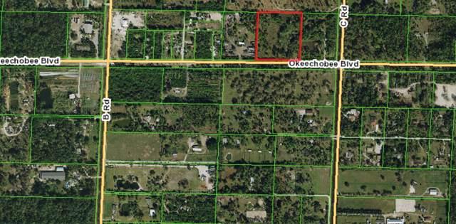 15151 Okeechobee Boulevard, Loxahatchee Groves, FL 33470 (MLS #RX-10594187) :: The Jack Coden Group