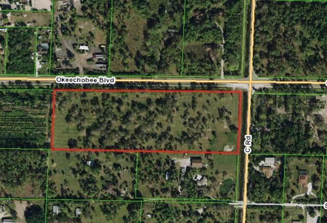 Xxxx Okeechobee Boulevard, Loxahatchee Groves, FL 33470 (MLS #RX-10594198) :: The Jack Coden Group