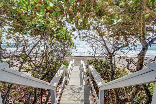 3594 S Ocean Boulevard #106, Highland Beach, FL 33487 (#RX-10594308) :: Ryan Jennings Group