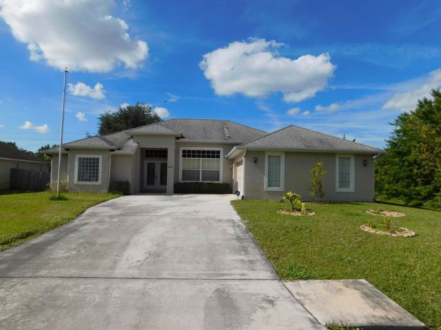 452 NW Biltmore Street, Port Saint Lucie, FL 34983 (#RX-10594575) :: Ryan Jennings Group