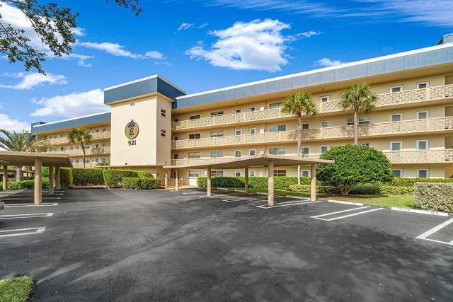 921 Spanish Circle #332, Delray Beach, FL 33483 (#RX-10594583) :: Real Estate Authority