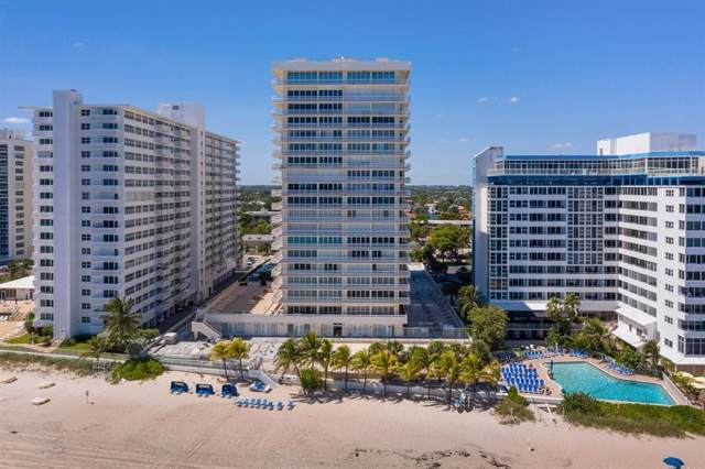 4020 Galt Ocean Drive #601, Fort Lauderdale, FL 33308 (MLS #RX-10594757) :: Berkshire Hathaway HomeServices EWM Realty