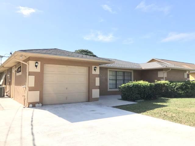 350 SW Violet Avenue, Port Saint Lucie, FL 34983 (MLS #RX-10594867) :: Berkshire Hathaway HomeServices EWM Realty