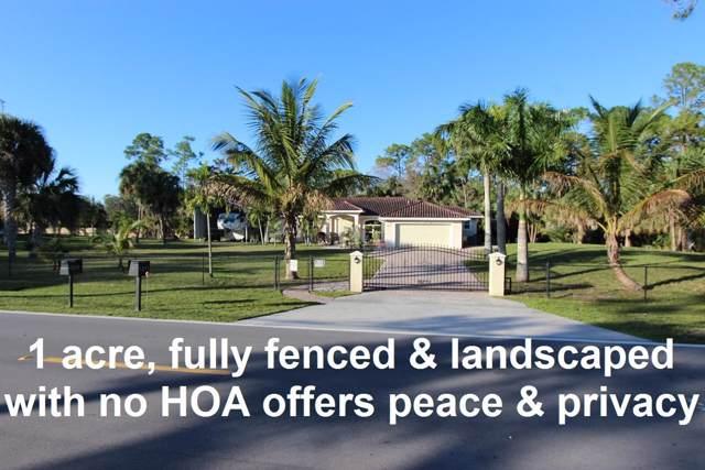 9271 Palomino Drive, Lake Worth, FL 33467 (MLS #RX-10595056) :: Laurie Finkelstein Reader Team