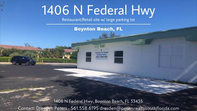 1406 N Federal Highway N, Boynton Beach, FL 33435 (MLS #RX-10595100) :: THE BANNON GROUP at RE/MAX CONSULTANTS REALTY I