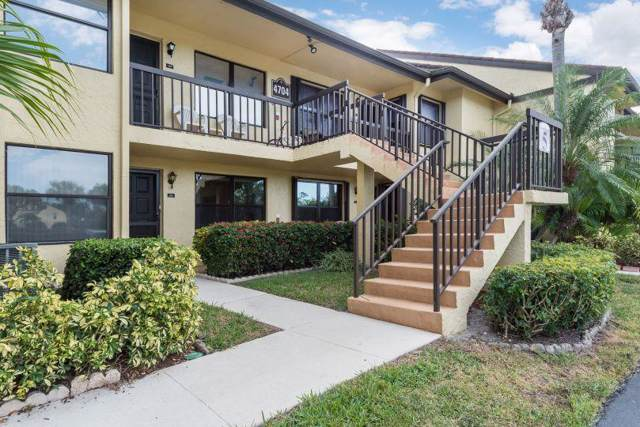 4704 Lucerne Lakes Boulevard #203, Lake Worth, FL 33467 (#RX-10595149) :: Ryan Jennings Group
