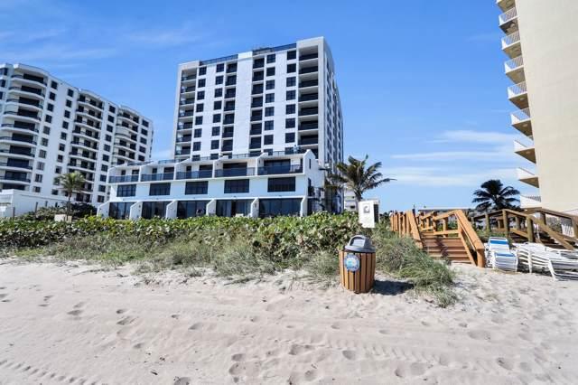 3115 S Ocean Boulevard #402, Highland Beach, FL 33487 (#RX-10595222) :: Realty One Group ENGAGE