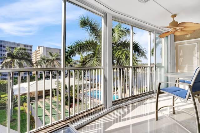 3212 S Ocean Boulevard 506A, Highland Beach, FL 33487 (#RX-10595239) :: Ryan Jennings Group