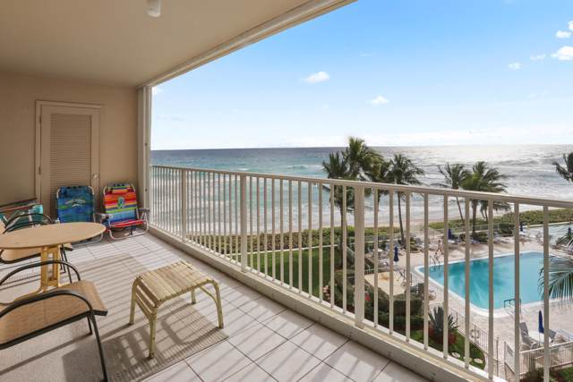 3101 S Ocean Boulevard #520, Highland Beach, FL 33487 (#RX-10595442) :: Ryan Jennings Group