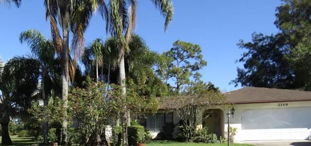 2149 SE Morningside Boulevard, Port Saint Lucie, FL 34952 (MLS #RX-10595519) :: Berkshire Hathaway HomeServices EWM Realty