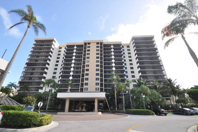 3420 S Ocean Boulevard 4-R, Highland Beach, FL 33487 (MLS #RX-10595740) :: Laurie Finkelstein Reader Team