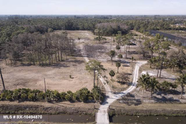 1529 B Road (Land), Loxahatchee Groves, FL 33470 (MLS #RX-10596027) :: Berkshire Hathaway HomeServices EWM Realty