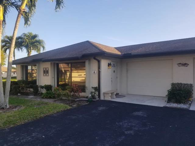 10235 Dovewood Lane A, Boynton Beach, FL 33436 (#RX-10596063) :: Ryan Jennings Group