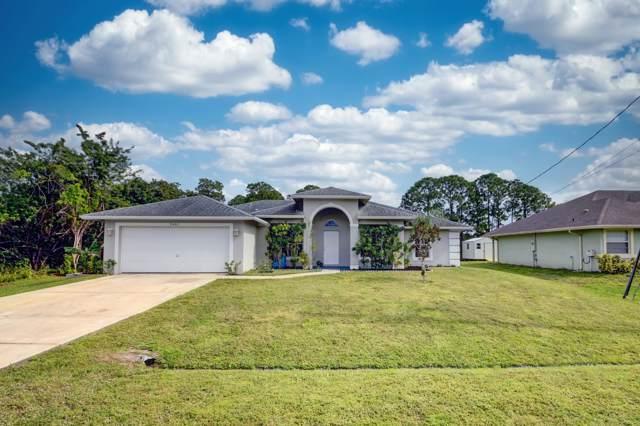 3457 SW Vendome Street, Port Saint Lucie, FL 34953 (MLS #RX-10596348) :: Castelli Real Estate Services
