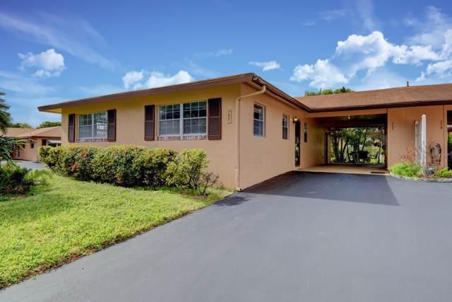 757 Whippoorwill Lane, Delray Beach, FL 33445 (#RX-10596448) :: Ryan Jennings Group