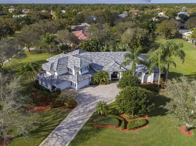 1366 SW Jasmine Trace, Palm City, FL 34990 (MLS #RX-10596663) :: Berkshire Hathaway HomeServices EWM Realty