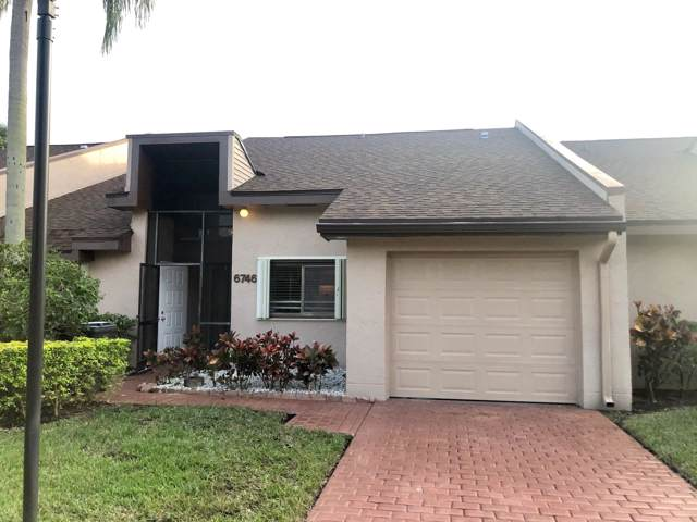 6746 Versailles Court #55, Lake Worth, FL 33467 (#RX-10596820) :: Ryan Jennings Group