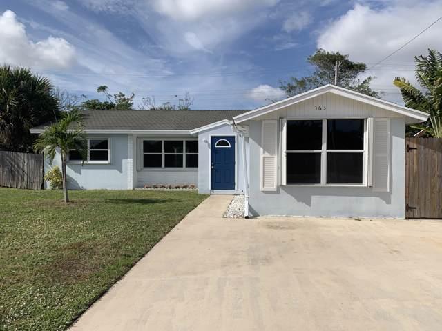 363 Garden Boulevard, Palm Beach Gardens, FL 33410 (#RX-10596914) :: Ryan Jennings Group