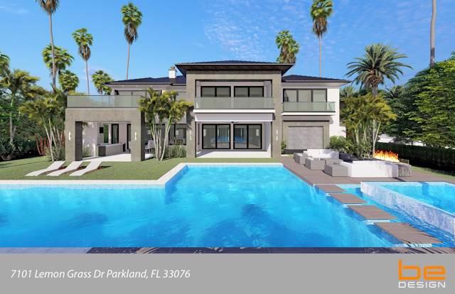 7101 Lemon Grass Drive, Parkland, FL 33076 (MLS #RX-10597065) :: Berkshire Hathaway HomeServices EWM Realty