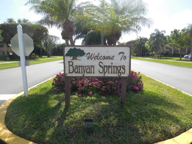 10188 Mangrove Drive #203, Boynton Beach, FL 33437 (#RX-10597236) :: Ryan Jennings Group