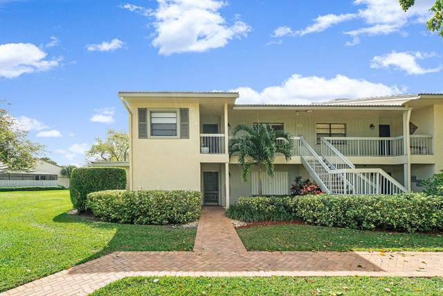 63 Eastgate Drive B, Boynton Beach, FL 33436 (#RX-10597355) :: Ryan Jennings Group
