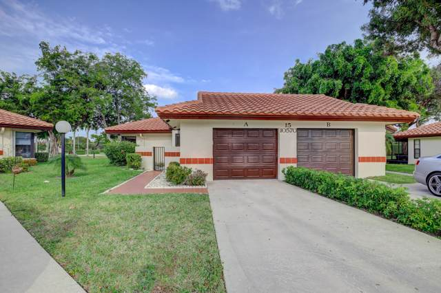 10570 Beach Palm Court A, Boynton Beach, FL 33437 (#RX-10597396) :: Ryan Jennings Group