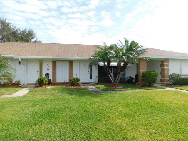 518 Crooked Lake Lane C, Fort Pierce, FL 34982 (MLS #RX-10597433) :: Berkshire Hathaway HomeServices EWM Realty