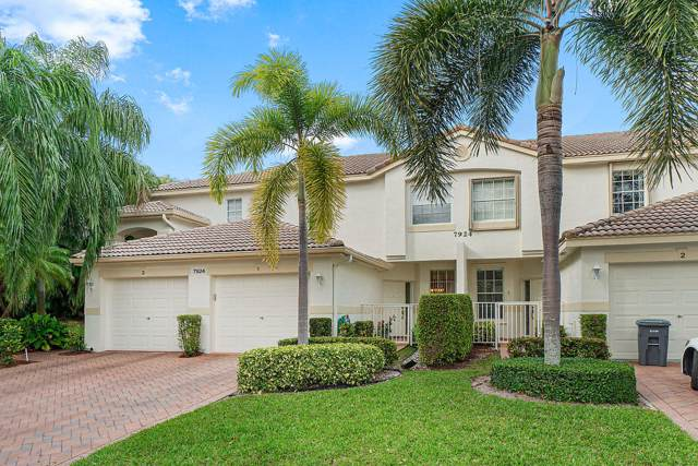 7924 Laina Lane #1, Boynton Beach, FL 33437 (#RX-10597485) :: Ryan Jennings Group