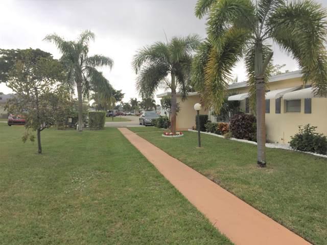 301 Pine Point Drive C, Boynton Beach, FL 33435 (#RX-10597544) :: Ryan Jennings Group