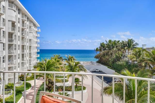 2295 S Ocean Boulevard #508, Palm Beach, FL 33480 (MLS #RX-10597645) :: The Paiz Group