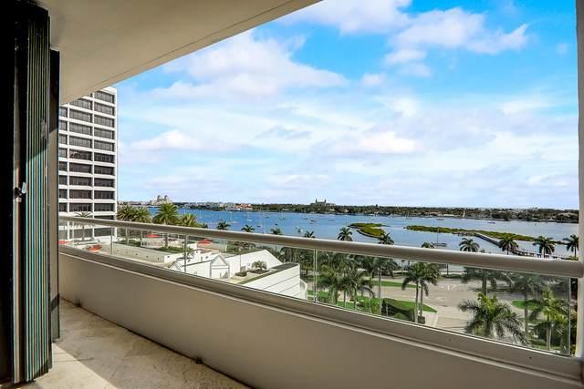 529 S Flagler Drive 8F, West Palm Beach, FL 33401 (MLS #RX-10598041) :: The Paiz Group