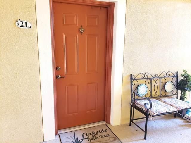 4190 Gator Greens Way #21, Fort Pierce, FL 34982 (#RX-10598055) :: Ryan Jennings Group