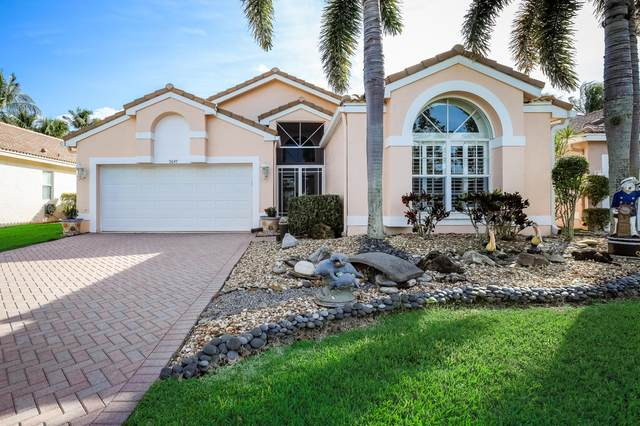 9647 Orchid Grove Trail, Boynton Beach, FL 33437 (#RX-10598555) :: Ryan Jennings Group