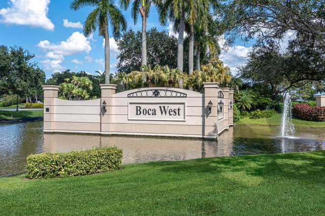 1854 SW Bridgewood Drive #1854, Boca Raton, FL 33434 (#RX-10598884) :: Signature International Real Estate