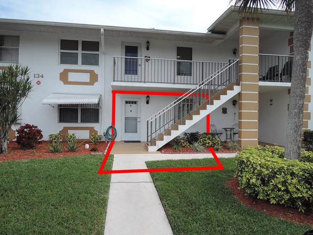 134 Lakes End Drive E-1, Fort Pierce, FL 34982 (#RX-10598957) :: Ryan Jennings Group