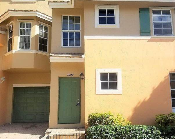 1802 NE 5th Street #1408, Boynton Beach, FL 33435 (#RX-10599203) :: Ryan Jennings Group