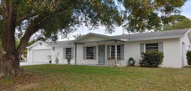 185 NW Friar Street, Port Saint Lucie, FL 34983 (MLS #RX-10599318) :: Berkshire Hathaway HomeServices EWM Realty
