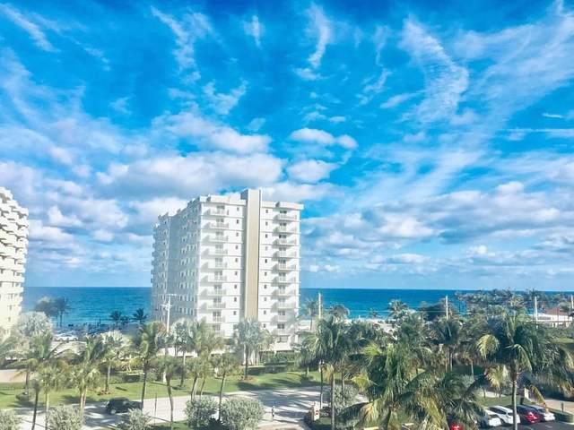 3301 S Ocean Boulevard #406, Highland Beach, FL 33487 (#RX-10599390) :: Ryan Jennings Group