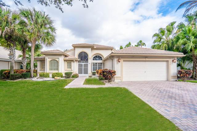 6796 Molakai Circle, Boynton Beach, FL 33437 (#RX-10599395) :: Ryan Jennings Group