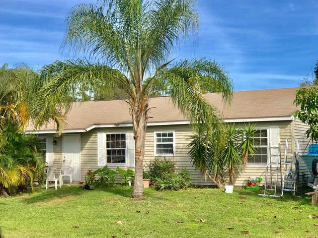 1341 SE Belcrest Street, Port Saint Lucie, FL 34952 (#RX-10599544) :: Ryan Jennings Group