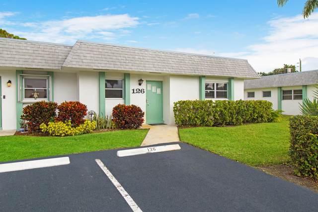 2638 Gately Drive E #126, West Palm Beach, FL 33415 (#RX-10599713) :: Ryan Jennings Group