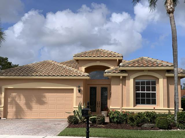 7689 Viniste Drive, Boynton Beach, FL 33472 (#RX-10599779) :: Ryan Jennings Group