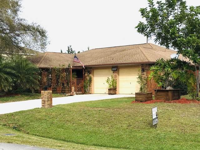 107 NW Friar Street NW, Port Saint Lucie, FL 34983 (#RX-10599859) :: Ryan Jennings Group