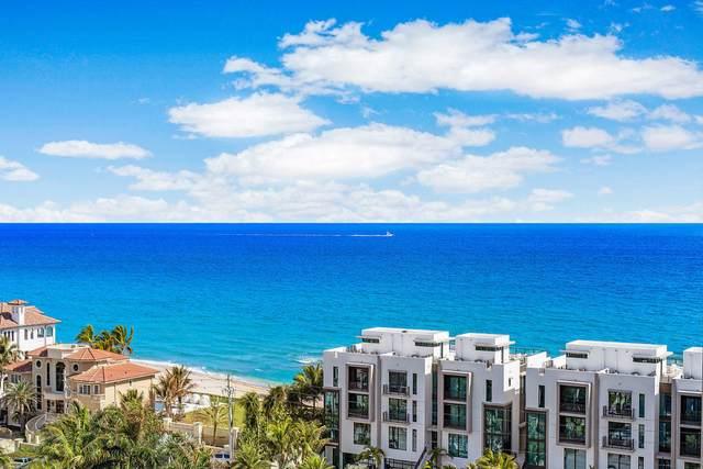 3700 S Ocean Boulevard #1109, Highland Beach, FL 33487 (#RX-10599879) :: Ryan Jennings Group