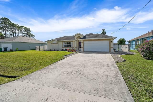 186 SW Carter Avenue, Port Saint Lucie, FL 34983 (MLS #RX-10599923) :: The Paiz Group