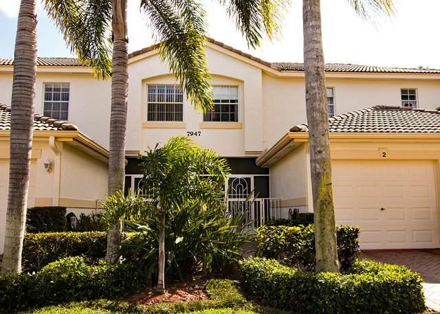 7947 Laina Lane #2, Boynton Beach, FL 33437 (#RX-10600071) :: Ryan Jennings Group