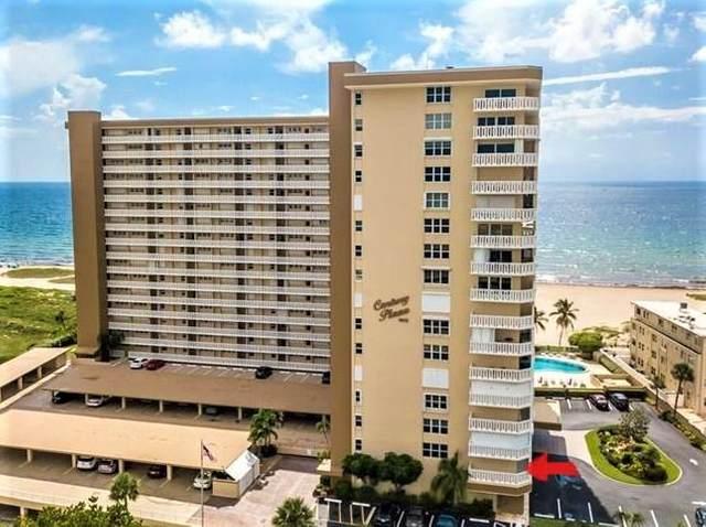 1012 N Ocean Boulevard #212, Pompano Beach, FL 33062 (#RX-10600092) :: Ryan Jennings Group