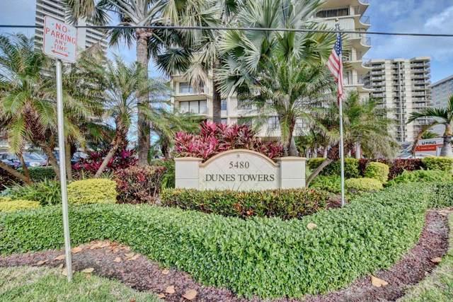 5480 N Ocean Drive A 5 C, Singer Island, FL 33404 (MLS #RX-10600098) :: Berkshire Hathaway HomeServices EWM Realty